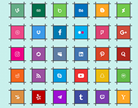 Social Media Icon Pack (Multi-Format) | Freebie