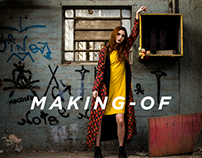 "Making-of: fashion film ""Tela Pintada"" - TRAMA"