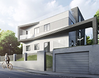 Alive House Design Visualization. Architectural Renders
