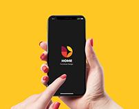 Home - UX/UI Mobile App