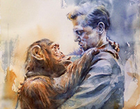 David and chim