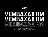 VEMBAZAX RM - FREE FONT