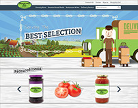 Seasons Gourmet E-Commerce Design
