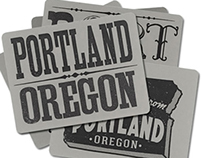 Portland Postcards, PDX, Oregon