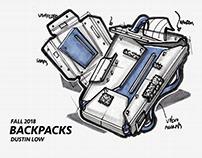 Upcycled bag design process doc
