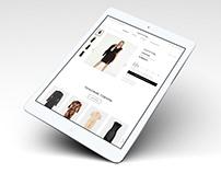 Сайт для интернет-магазина одежды бренда Comma