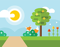 Running With Foxes | Banner Designs 2017
