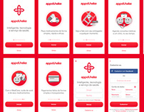 Launch Screen Design para Appo