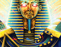 Hail to the Pharaoh 1000pce Jigsaw puzzle illustration