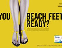 Are you beach feet ready?