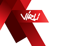Vir.li_library of viral video / web / logo