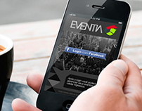Eventia App, desktop & mobile