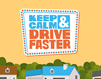 Keep Calm & Drive Faster