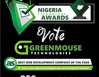 Award Nomination For Greenmouse Technologies