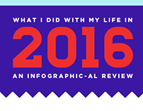 What I Did With My Life in (Year) Infographics