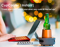 CupCooler |Instant| - Cools down your drink...