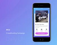 Daily UI - #032