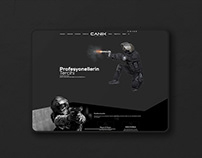 Canik Arms Web Design