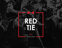 Red tie award logo & web sire