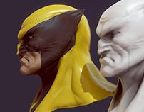 Wolverine Practice Head
