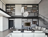 Duplex Apartment by Pitsou Kedem Architects