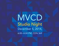 Studio Night Poster