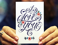 I Love You | Greeting Card