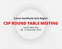 Canon CSP Round table meeting