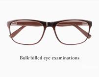 Kevin Paisley Eye-wear Ads