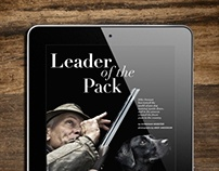 Hound & Hearth iPad Magazine App