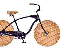 """The Donut wheels """"ad"""""""