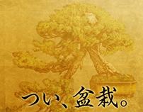 つい、盆栽 (Twit, Bonsai)