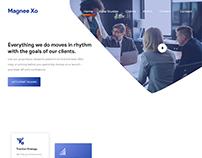 Website UI UX Design for a PR Agency