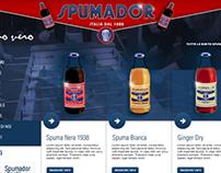 Spumador // web site // case study
