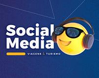 Social Media // Viagens & Turismo