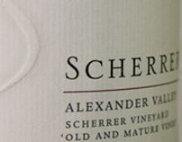 IDENTITY & PACKAGING: Scherrer Winery