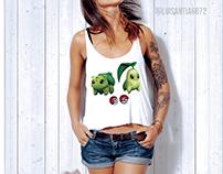 T-shirt illustration: Pokemon