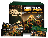 Seattle Storm: 2012 Season Ticket Package