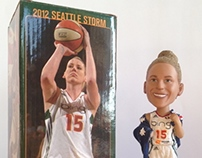 Seattle Storm: 2012 Bobblehead Boxes