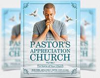 Free Pastor's Appreciation Church Flyer