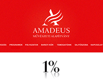 Amadeus foundation site refreshing
