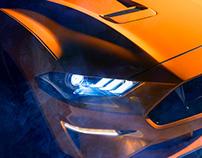 Ford Mustang 2018 - CGI & Retouching