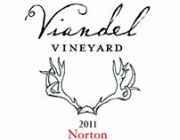 Wine Labels for Viandel Vineyard