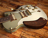 3D Guitar Renders