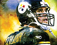 STEELERS PLAYER POSTERS