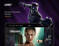 UME Cinema Concept Design