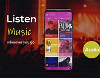 app screen shot design