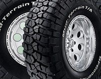 BF Goodrich • Mud Terrain Tires