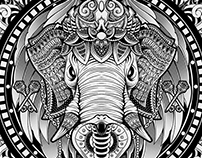Elephant Medallion