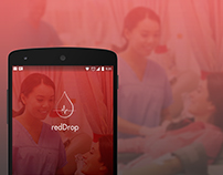 RedDrop   A blood Donation App